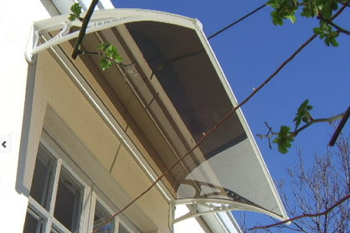 awning shawson white outside