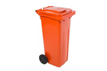 Dog Toilet Black Wheely Bins