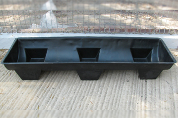 plastic feed trough 190 litre
