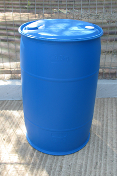 210 litre tight head plastic drum