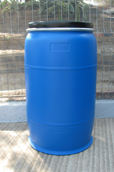 210 litre open head plastic drum