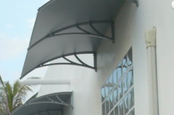 awning shawson outside