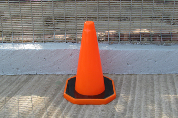 medium plastic road cone