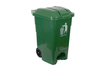 wheelie bin with pedal handsfree 70 litre