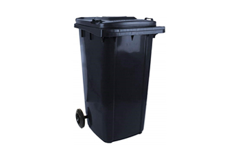 wheelie bin 240 litre black charcoal