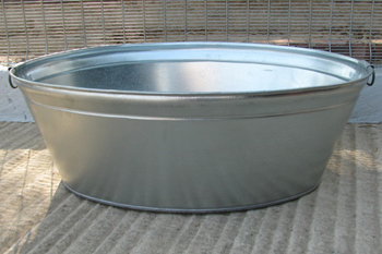 105 litre metal bath