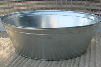 140 litre metal bath