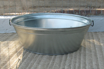 50 litre metal bath