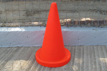 large strong road cone