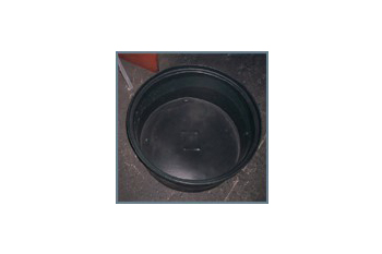 plastic round feed trough