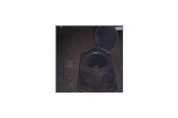 plastic toilet base