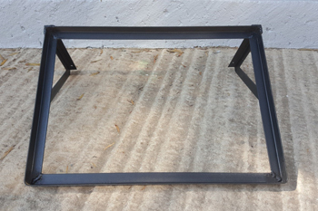 steel feedbin mounting bracket