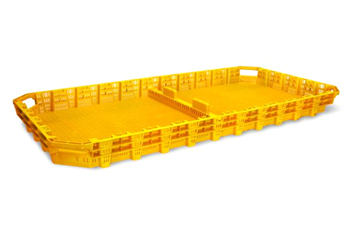 large plastic dry tray