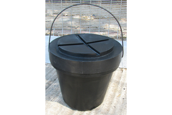 toilet bucket with lid
