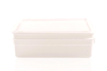 plastic butcher box with lid