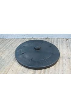 loose dustbin lid black 85 litre