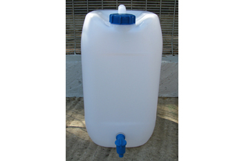 25 litre water can with tap