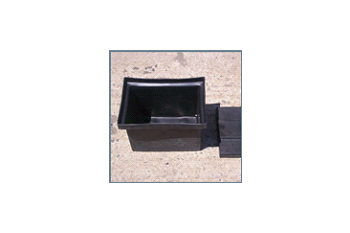 small plastic battery box