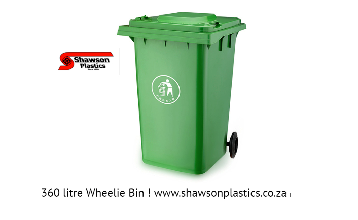 Some Of The More Unusual Wheelie Bins Available From Shawson Plastics