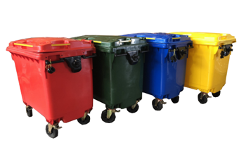 What Colour Bin Should I buy for different Types of Waste ?