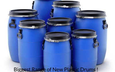 Where Can You Get The Biggest Range Of New Plastic Drums ?