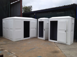 guardhouses fibreglass