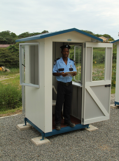 Shawson Supplies The Widest Range Of Guardhouses !