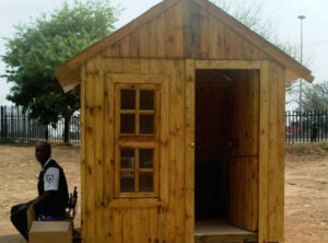 wooden guardhouse medium