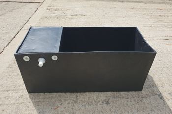 plastic water trough 60 litre