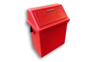 baboon proof dustbin plastic swivel